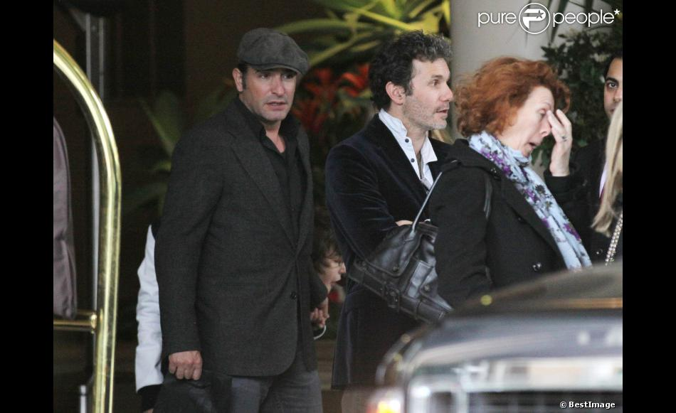 Jean dujardin et serge hazanavicius fr re de michel for Frere de jean dujardin
