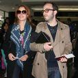 Bérénice Bejo à l'aéroport de Los Angeles le 27 février 2012