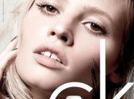 Lara Stone, beauté naturelle pour le make-up Calvin Klein