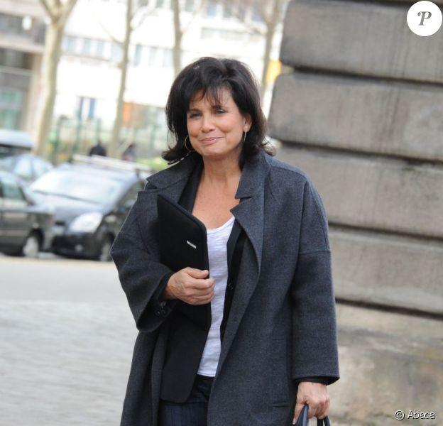 Anne Sinclair en janvier 2012 à Paris