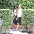 Naomi Campbell et son homme Vladislav Doronin le 5 mars 2012 à Miami