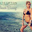 Kate Upton crée une mini collection de bikinis pour Beach Bunny.