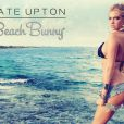Kate Upton, sexy égérie de sa propre collection pour Beach Bunny.