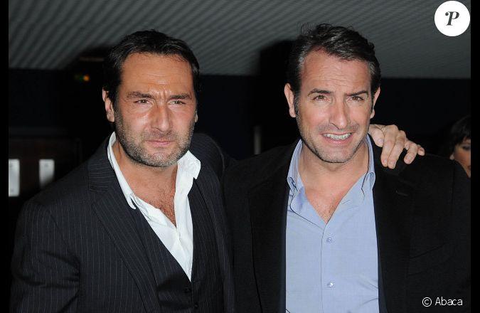 Jean dujardin et gilles lellouche le 14 f vrier 2012 for Dujardin jean marc