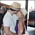 Jennie Garth et Peter Facinelli au temps de l'amour, en février 2009...