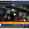 Le témoignage terrible d'un ambulancier suite à l'accident d'un car belge au tunnel de Sierre, en Suisse, le 13 mars 2012.