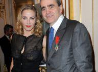 Babsie Steger, l'inoubliable Hilguegue, fière devant son mari Takis décoré