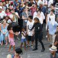 Jennifer Lopez sur le tournage de son nouveau clip,  Follow the Leader , au Mexique. Le 13 mars 2012