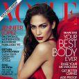 Jennifer Lopez en couverture du  Vogue  américain