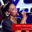 Sofia dans The Voice sur TF1 samedi 10 mars 2012