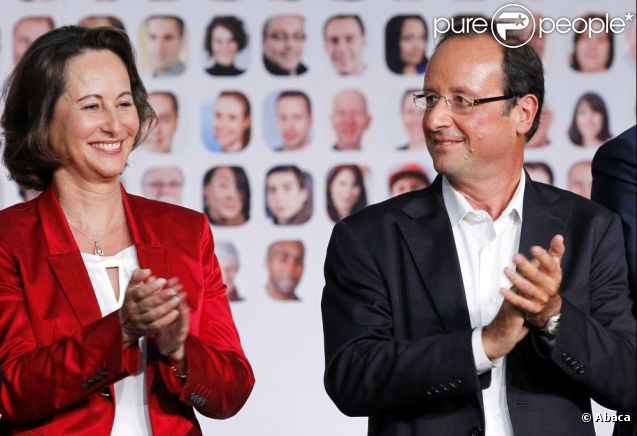Ségolène Royal et François Hollande en 2011