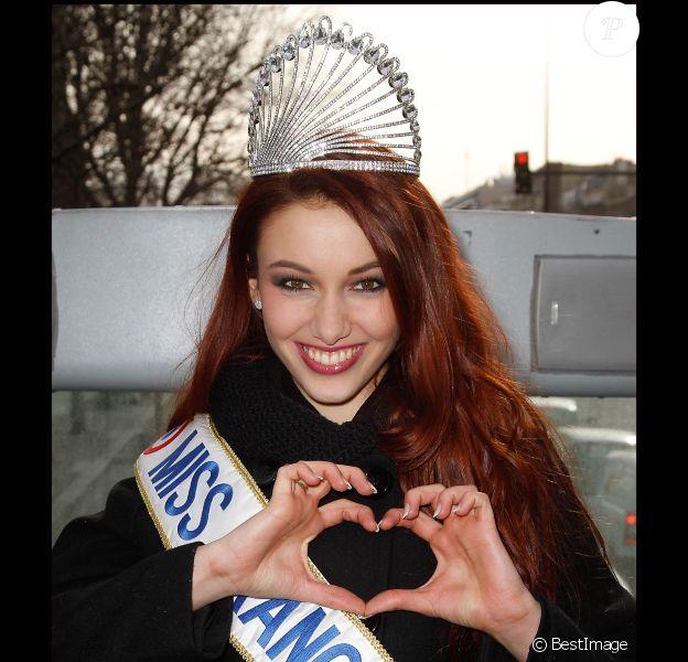 Delphine Wespiser le 14 février 2012 à Paris