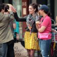 Ashley Greene, sur le tournage d' Americana , le vendredi 23 mars à New York.