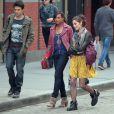 Ashley Greene devient fashionista pour les besoins du tournage de la série  Americana , le vendredi 23 mars à New York.