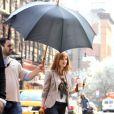 Isa Fisher sur le tournage de  Now You See Me  à New York, le 23 mars 2012.