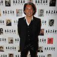 Kenzo Takada lors du dîner en l'honneur de Pierre et Gilles et de la sortie du livre Autobiographie en photomatons, le 29 mars 2012 à Paris