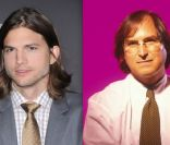 Ashton Kutcher, en décembre 2011 à New York / Steve Jobs, en 1996.