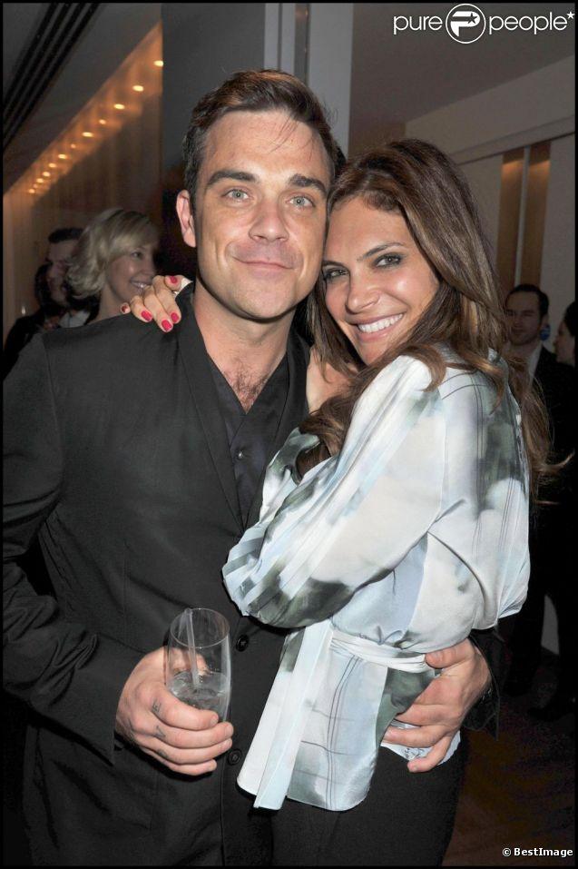 Robbie Williams et sa femme Ayda