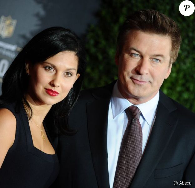 Alec Baldwin et sa fiancée Hilaria
