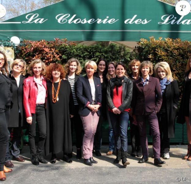 Le jury 2012 du prix de la Closerie des Lilas présidé par Emmanuelle de Boysson dont le prix a été remis à Nathalie Kuperman pour son ouvrage Les raisons de mon crime