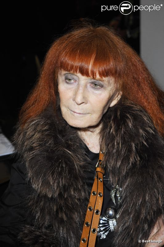 Sonia Rykiel, en octobre 2011 à Paris.