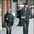 Kylie Minogue et Andres Velencoso en amoureux.