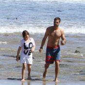 David Charvet et Brooke Burke rejouent Alerte à Malibu avec leurs enfants