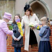 Pâques à Windsor : La svelte princesse Eugenie et la sage Lady Louise brillent