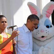 Barack Obama : Pompes, basket, tennis, famille et chocolat pour fêter Pâques