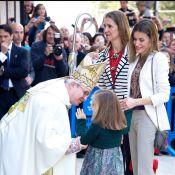 Letizia d'Espagne : Ses filles Leonor et Sofia stars de la messe de Pâques