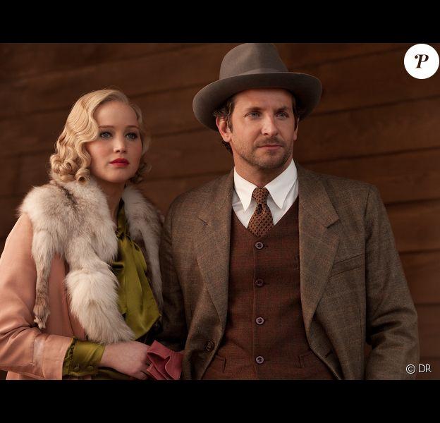 Jennifer Lawrence et Bradley Cooper dans Serena, un drame réalisé par Susanne Bier.