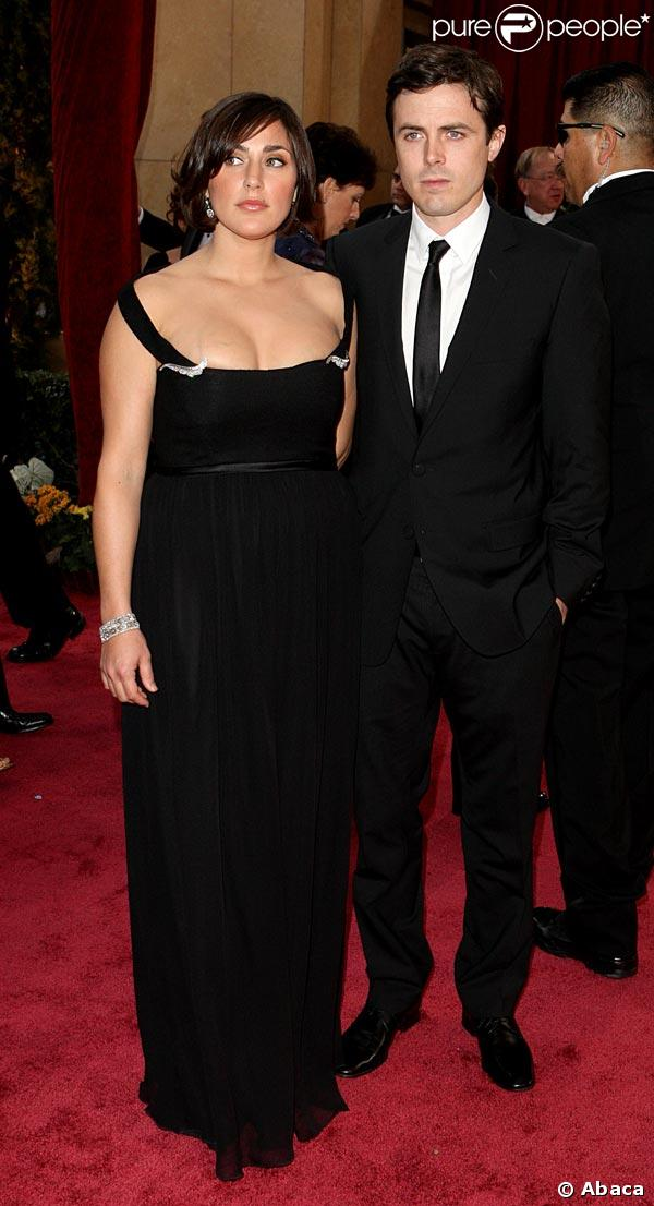 Casey Affleck couple
