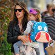 Alessandra Ambrosio et sa fille Anja
