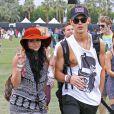 L'amour est au rendez-vous lors du premier jour du Festival de Coachella, avec Vanessa Hudgens et son petit ami Austin Butler. Indio, le 13 avril 2012.