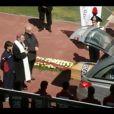 L'hommage rendu à Piermario Morosini le 17 avril 2012 à Livourne