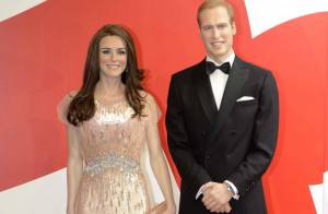 Kate Middleton et prince William, 1 an de mariage : de belles noces... de cire !