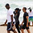 Naomi Campbell et son chéri Vladislav Doronin se baignent à Miami le 14 avril 2012