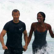 Naomi Campbell : Baignade sexy avec son Vladislav, après l'effort