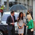 Le prince William et Kate Middleton, duc et duchesse de Cambridge, honoraient à Londres le 25 avril 2012 la première du documentaire  African Cats  réalisé par Guy Ritchie et narrée par Patrick Stewart au profit du Tusk Trust dont le prince de Galles est le parrain.