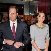 Kate Middleton glamour et antique avec William, leur retour sur tapis rouge
