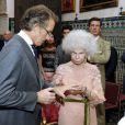 Mariage de Cayetana, 18e duchesse d'Albe, et d'Alfonso Diez au palais Las Duenas à Seville le 5 octobre 2011