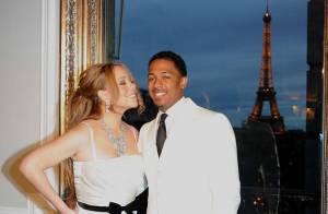 Mariah Carey et Nick Cannon célèbrent 4 ans de mariage à la tour Eiffel