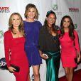 Felicity Huffman, Brenda Strong, Vanessa Williams et Eva Longoria à la soirée organisée pour le grand final de Desperate Housewives, le 29 avril 2012 à Los Angeles