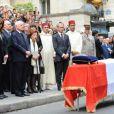 Honneur Militaire pour Yves Saint Laurent