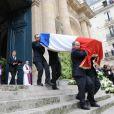 Cercueil de Yves Saint Laurent