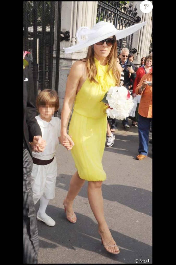 Liz hurley et son fils damien - Damien thevenot et son compagnon ...