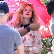 Drew Barrymore : Aussi superbe qu'enceinte, elle renaît dans les roses