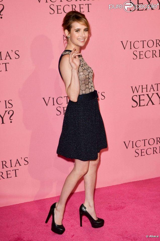 Emma Roberts lors de la soirée Victoria's Secret à Los Angeles le 10 mai 2012