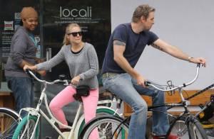 Kristen Bell et son fiancé Dax Shepard : Un couple sportif et très green