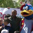 Colonel Reyel au parc d'attractions Saint-Paul le 16 mai 2012 pour le Secours populaire et la campagne Vacances d'été 2012.